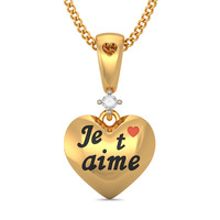 The French Heart Pendant
