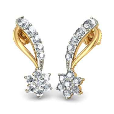 Diamond Wedding Earrings
