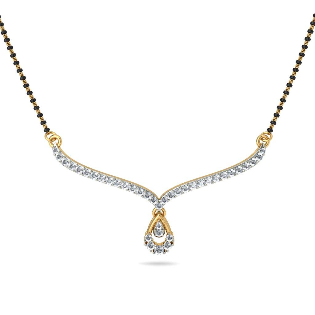 diamond mangalsutra designs