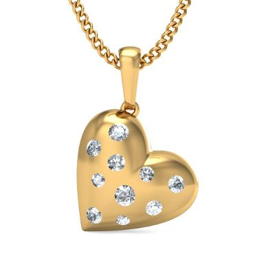 The Glitzy Love Pendant