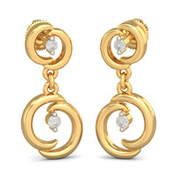 The Luna Drop Earrings