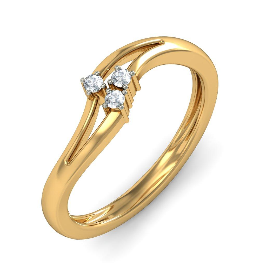 Gold Wedding Rings: Gold Rings For Women In India