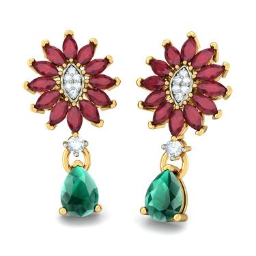 The Mystic Floriated Earrings