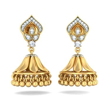 The Ethnic Meenakshi Jhumka