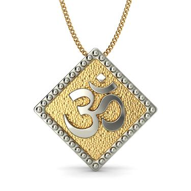 The Anmol Om Pendant