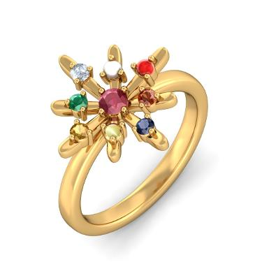 Models of Navaratna Rings
