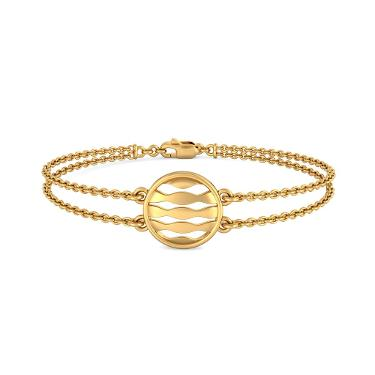 The Waves In Circle Bracelet
