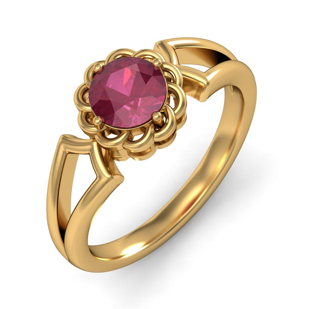 Ladies Gold Ring Design In India - coinchains.info