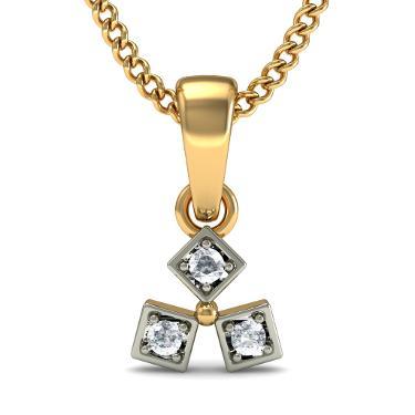 Gold Trinity Pendants