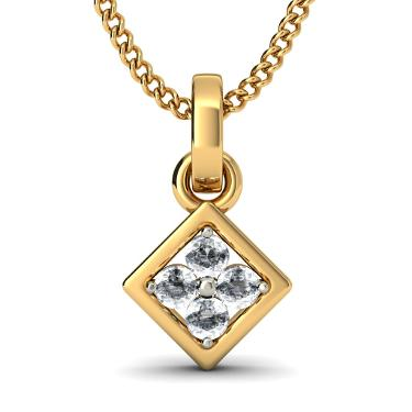 Diamond Cluster Pendants
