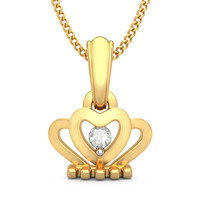 The Crown Jewel Pendant For Kids