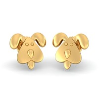 The Faithful Doggy Earrings For Kids