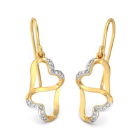 The Heart Infinity Earrings