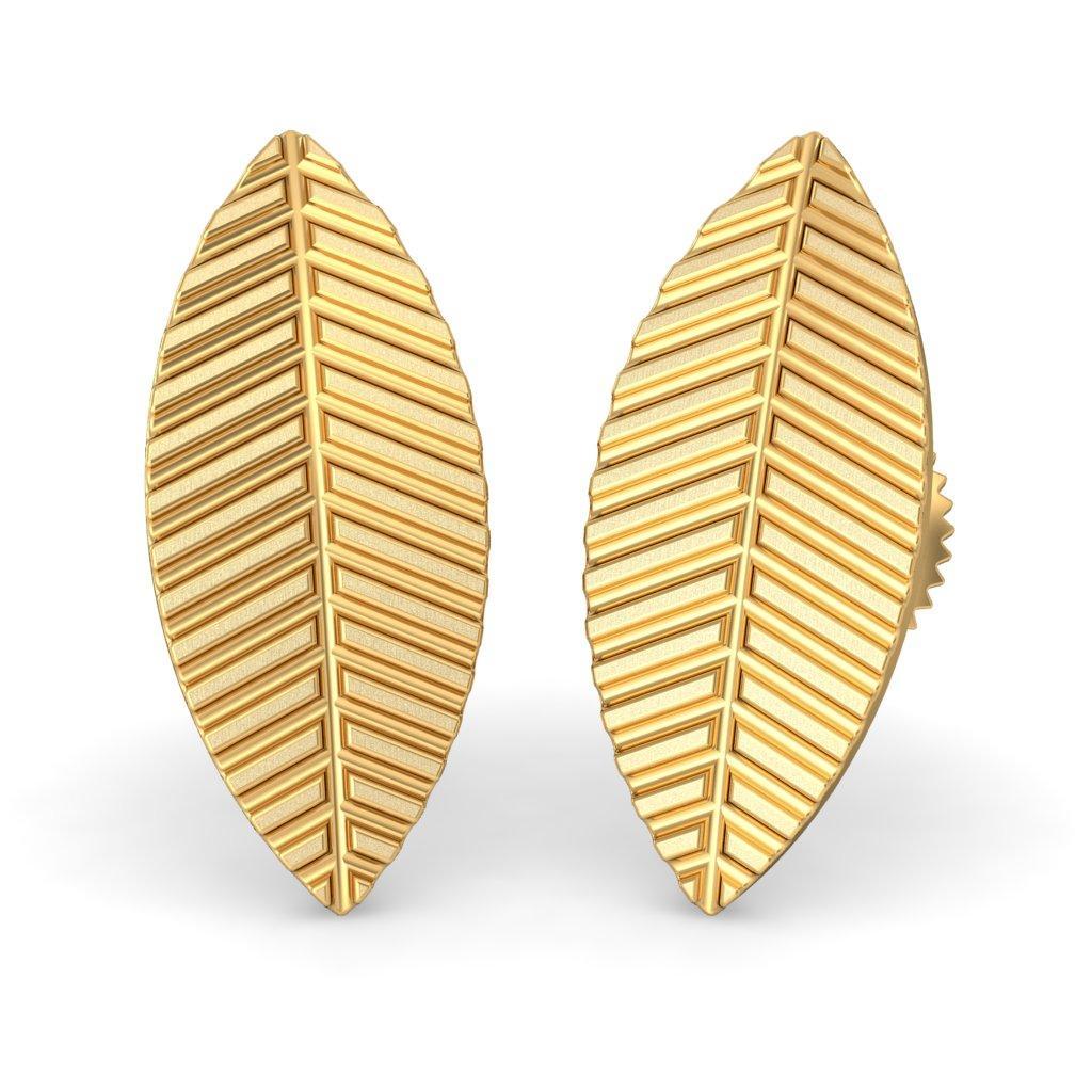 The Gold Leaf Earrings
