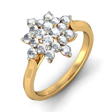The Floral Elegance Ring